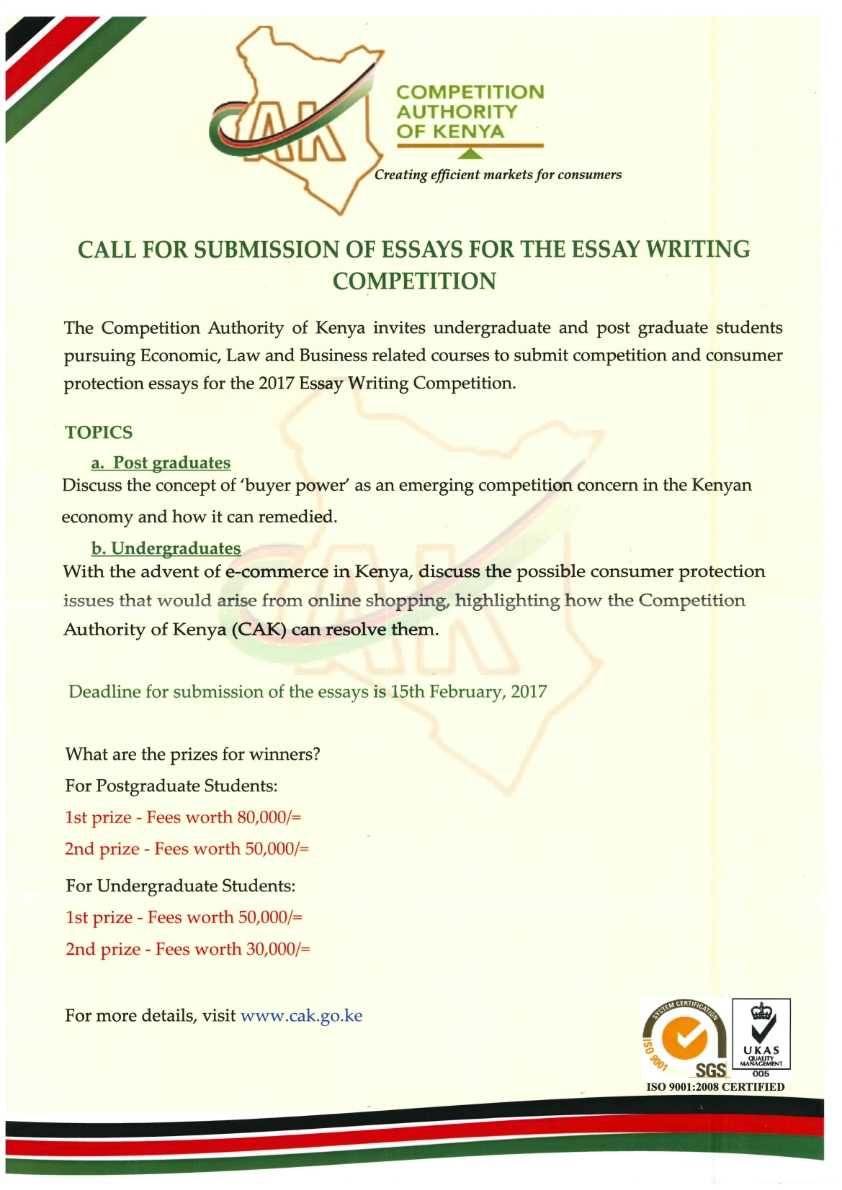 Competition Authority of Kenya Essay