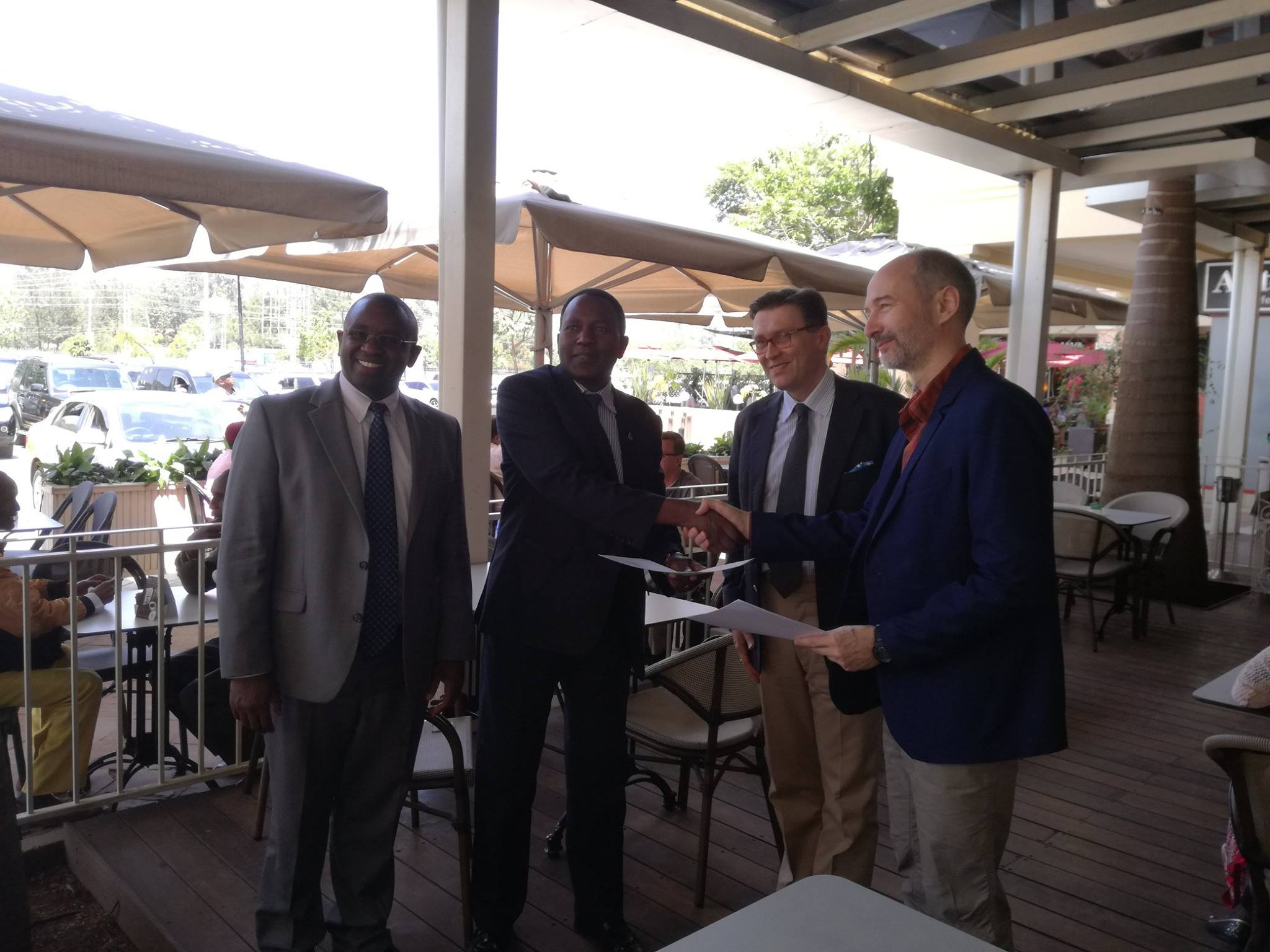 DeKUT signs an MOU with Obuda University Hungary