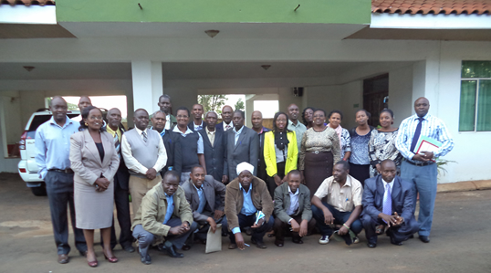 RCE Central Kenya stakeholders during a workshop held in April 2014