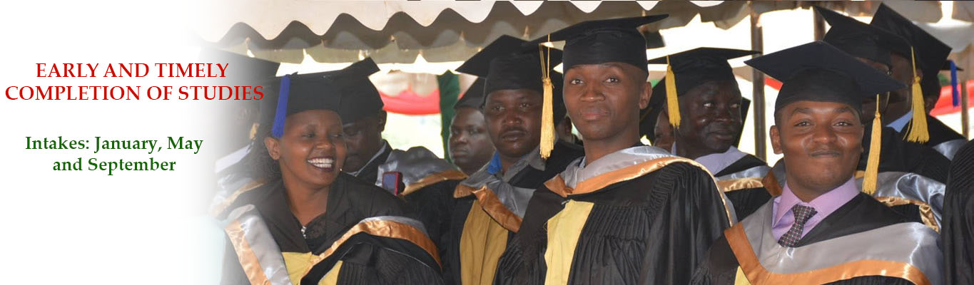 early and timely completion of studies intakes